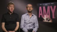 INTERVIEW James GayRees Chris King on the relationship betweeen Amy Winehouse and the media at 'Amy' Interview at Soho Hotel on June 23 2015 in...