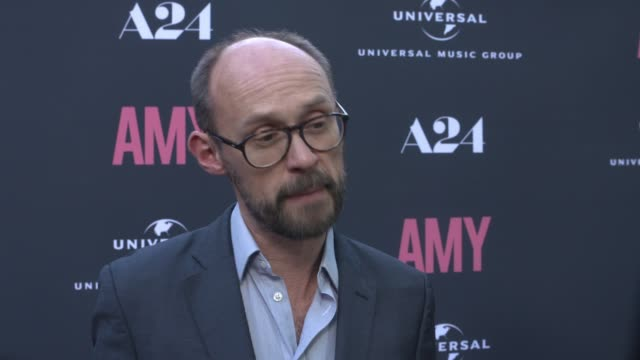 INTERVIEW James GayRees on Amy Winehouse and the process of making the movie at The US Premiere Of AMY Presented By Chairman CEO Of Universal Music...