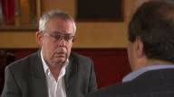 Report critical of police treatment of those with mental health problems ENGLAND INT Tony Herbert interview SOT On police arrest of his son during...