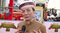 INTERVIEW James Hong on his noodle hat on what it means to have the movie premiere at the iconic TCL Chinese Theatre on if he's ever seen Hollywood...