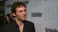 James Marsden on the event at the Conde Nast Traveler Hot List Party at West Hollywood CA