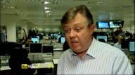 James Murdoch resigns as Chairman of BSkyB London Ben Fenton interview SOT