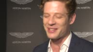 INTERVIEW James Norton on the excitement of Bond what Bond means to him everyone wants to be Bond at Aston Martin 50 Years of Bond party at the...