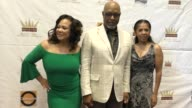 James Pickens Jr Penny Johnson Jerald at the 42nd Little Miss African American Scholarship Pageant Arrivals on August 13 2017 in Los Angeles...