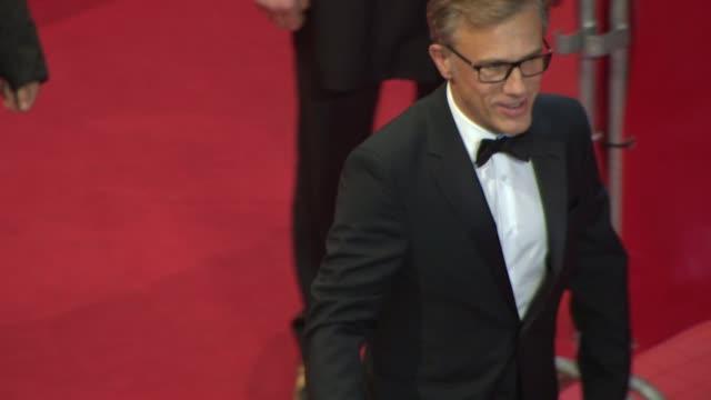 BROLL James Schamus Christoph Waltz Michel Gondry Barbara Broccoli Trine Dyrholm at Closing Ceremony Golden Bear Awards at Berlinale Palast on...