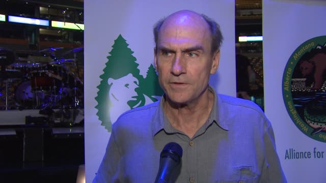 James Taylor on the oil spill in the Gulf of Mexico at the Carole King James Taylor Raise Over 13MM Donation With TicketsForCharitycom at Boston MA