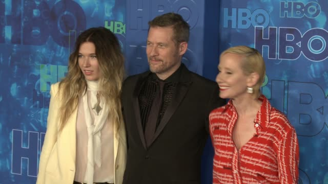 James Tupper and Anne Heche at the HBO's Post Emmy Awards Reception Arrivals at The Plaza at the Pacific Design Center on September 18 2016 in Los...