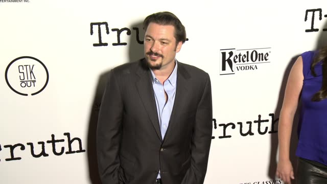 James Vanderbilt at the 'Truth' Los Angeles Screening at Samuel Goldwyn Theater on October 5 2015 in Beverly Hills California