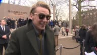 INTERVIEW Jamie Campbell Bower on Burberry his style London Collection Men's at Burberry London Collections Men AW14 on January 8 2014 in London...