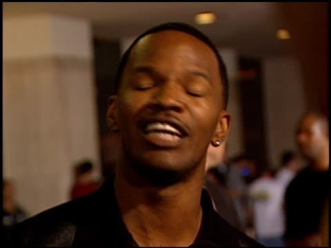 Jamie Foxx at the 'Bait' Premiere on September 12 2000