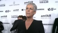 INTERVIEW Jamie Lee Curtis on why it was important for her to support amfAR at amfAR's Inspiration Gala Los Angeles 2015 in Los Angeles CA