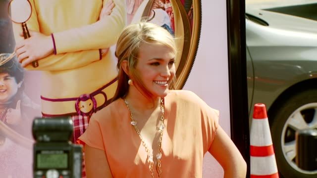Jamie Lynn Spears at the 'Nancy Drew' Premiere at Grauman's Chinese Theatre in Hollywood California on June 10 2007