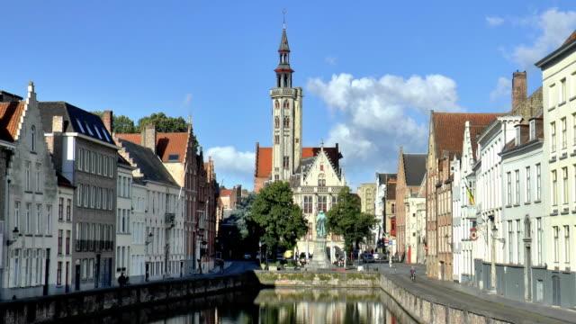 Jan van Eyckplein - Bruges, Belgium