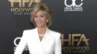 Jane Fonda at 2015 Hollywood Film Awards in Los Angeles CA
