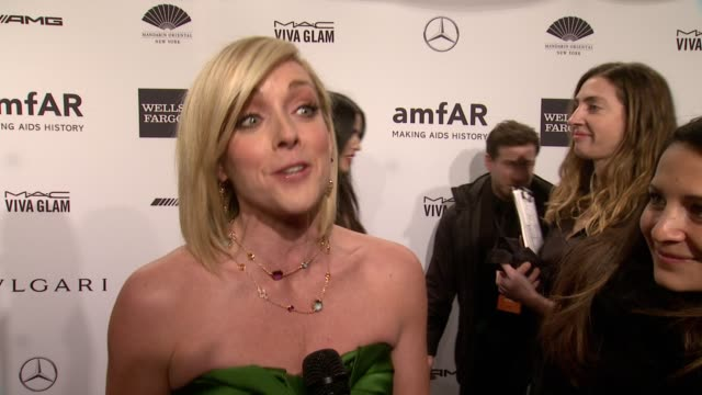 INTERVIEW Jane Krakowski on singing tonight and the importance of amfAR amfAR New York Gala 2014 at Cipriani Wall Street on February 5th 2014 in New...