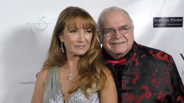 Jane Seymour and Ben Stevenson at The 2017 Open Hearts Gala at SLS Hotel on October 21 2017 in Beverly Hills California