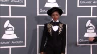 Janelle Monae at The 55th Annual GRAMMY Awards Arrivals in Los Angeles CA on 2/10/13