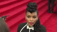 INTERVIEW Janelle Monae on her outfit at 'China Through The Looking Glass' Costume Institute Benefit Gala Arrivals at Metropolitan Museum of Art on...