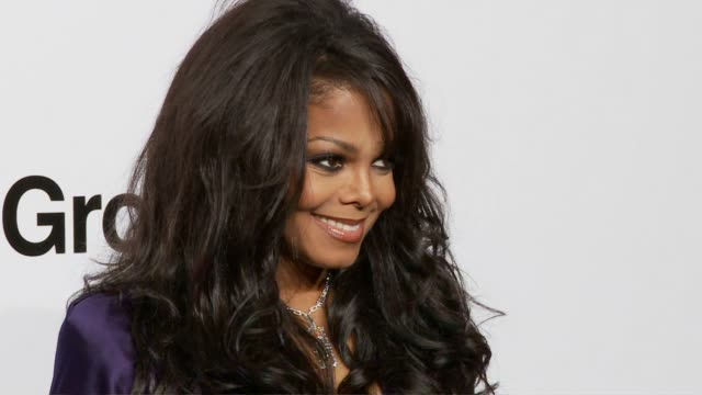 Janet Jackson at the amfAR's Inaugural Milan Fashion Week Event at Milan