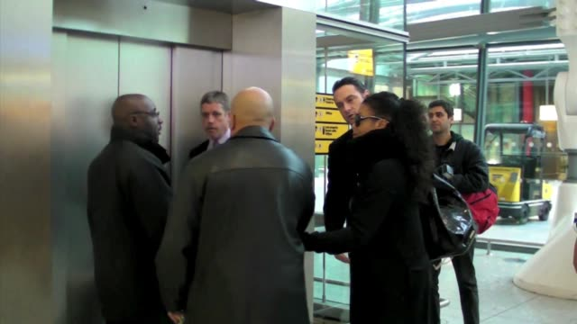 Janet Jackson at the Celebrity Sightings in London at London England