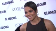 Janet Jackson at the Glamour Magazine Honors The 2010 Women Of The Year Red Carpet at New York NY