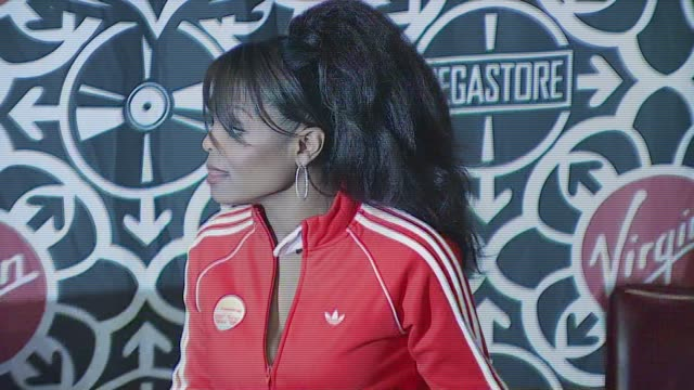 Janet Jackson at the Janet Jackson Signing Copies of Her New CD '20 YO' at Virgin Megastore Times Square in New York New York on September 26 2006
