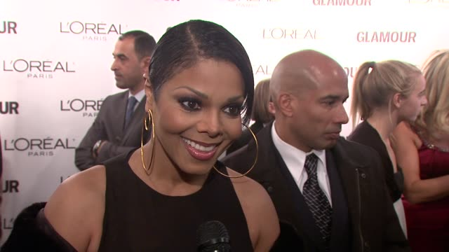 Janet Jackson on coming out to honor her friend Donatella Versace Says Donatella is very shy and very kind Says her mother was someone who influenced...