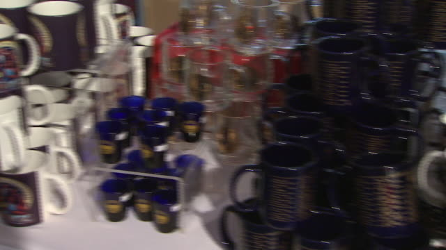 January 16 2009 PAN Commemorative merchandise prepared for the 2009 inauguration / Washington DC United States