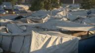 January 6 2011 PAN Roofs of various tents creating a makeshift neighborhood / Haiti