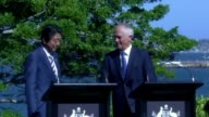 Japan and Australia will work together to ensure the Trans Pacific Partnership free trade deal comes into force Prime Minister Shinzo Abe says making...