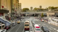 Japan_ueno_intersection_timelapse_hd