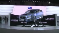 Japanese and international car makers unveil their latest models at the Tokyo Motor Show 2013 CLEAN Carmakers unveil latest models in Tokyo on...