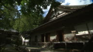 Japanese architecture characterizes the Daianzenji Temple.