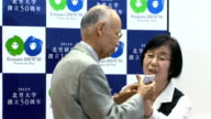 Japanese biologist Satoshi Omura and two scientists from Ireland and China won this year's Nobel Prize in Physiology or Medicine for their...