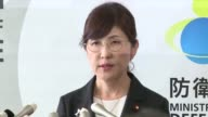 Japanese Defense Minister Tomomi Inada attends a press conference in Tokyo July 28 after tendering her resignation to take responsibility over a...