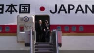 Japanese Emperor Akihito and Empress Michiko arrive in Manila for a five day state visit welcomed by President Benigno Aquino III and other...