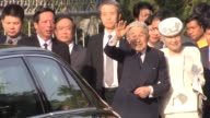 Japanese Emperor and Empress Akihito and Michiko visit the memorial home of Vietnamese nationalist Phan Boi Chau who campaigned for his country's...