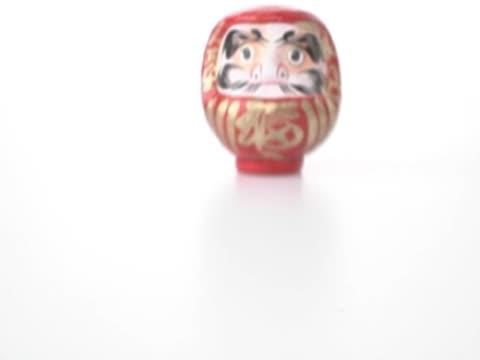 Japanese Figurine Sliding Off Table