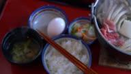 Japanese Food, Nabe Sukiyaki Style