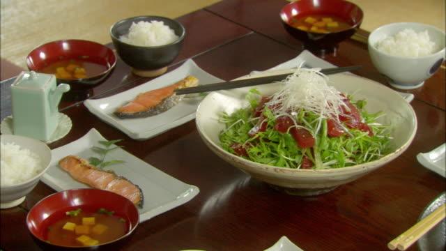 Japanese food/ Tokyo, Japan