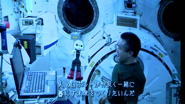 Japanese humanoid robot has been listed in the Guinness World Records for communicating aboard the International Space Station the highest point ever...