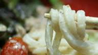 Japanese noodle salad with Tuna fish