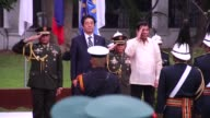 Japanese Prime Minister Shinzo Abe arrives in the Philippines becoming the first foreign leader to visit since President Rodrigo Duterte took office...