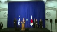 Japanese Prime Minister Shinzo Abe demands that the Islamic State group immediately free two Japanese hostages unharmed after the jihadists posted a...