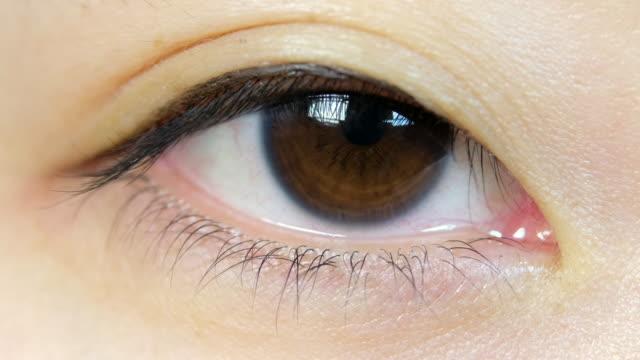 Japanese Woman Eyeball Macro