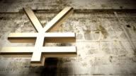 Japanese yen falling