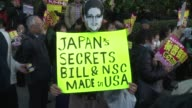 Japans parliament adopts a law on protecting state secrets despite a public outcry with strong opposition from the media and academics who fear it...