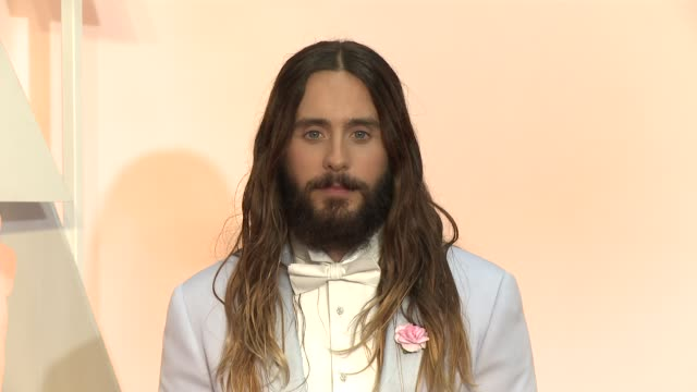 Jared Leto at 87th Annual Academy Awards Arrivals at Dolby Theatre on February 22 2015 in Hollywood California
