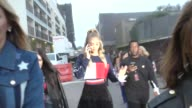 Jasmine Sanders outside the TommyLand Tommy Hilfiger Spring 2017 Fashion Show at Venice Beach in Celebrity Sightings in Los Angeles