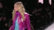 Jasmine Tookes Romee Strijd Elsa Hosk Alanna Arrington Gigi Hadid Anna Cleveland Stella Maxwell and her fellow Models on the runway for the Jeremy...